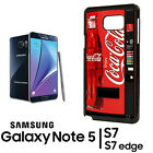 Coca Cola Vending Samsung Galaxy Note 8 9 S8 S9 S10 + Phone RUBBER Edge Case 1 $10.49  on eBay