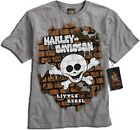 Harley-Davidson   Toddler Boy Motorcycle T-Shirt - Little Rebel CORE-0174130 2-4