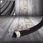 Stainless Steel/Black Braided CPE Tubing 15K-PSI Oil/Fuel Hose/Line Per Foot/FT