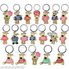 Boofle Metal Keyring Auntie Boyfriend Dad Mum Nan Grandad Husband Wife Sister
