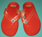 New Women Slippers shoes thongs Red Size US 3 to 5