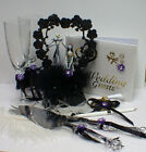 P Nightmare before Christmas Wedding Cake Topper Glasses Knife Book Halloween