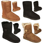 Womens Ugg Australia Classic Short Boots in Various Colours From Get The Label