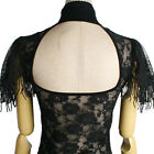 New PUNK RAVE Gothic emo VAMPIRE PRTVATE PIRATE burlesque STEAMPUNK backlessTee