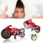 Motorcycle Train Digital Alarm Clock Creative Quartz Alarm Desk Home Room Decor