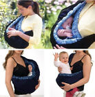 Newborn Infant Baby Carrier Sling Wrap Swaddling Front Strap Sleeping Carry Bags