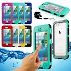 WATERPROOF SHOCKPROOF DIRT PROOF CASE COVER FOR APPLE IPHONE 6S & 6S PLUS