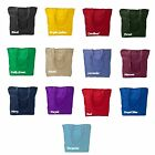 Large Liberty Tote Bag w/ Zipper Closure - 13 Color Choices/Durable Denier Poly