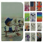 For Nokia Leather Stand Phone Case With lovely animal Cartoon in 8 color