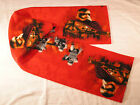 Star Wars Villans on Red Fleece Scarf The Force Awakens $9.95 USD on eBay