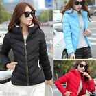 Women Down Jacket Slim Down Coat Hooded Winter Thick Warm Outerwear Overcoat New