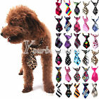 30 Color Adjustable Dog Cat Teddy Pet Puppy Toy Grooming Bow Tie Necktie Clothes