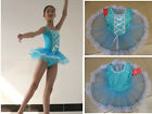 Baby Kids Girls Ballet Dance Costume TUTU Skirt Fairy Dress Leotards Gym 4Colors