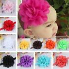 Vogue Chic Baby Girl Kids Lace Flower Headband Hair Band Headwear Toddler Infant