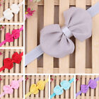 Sweet New Kids Girls Baby Toddler Infant Bowknot Headband Hair Bow Band Hot J24