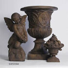 Giardino Garden Urn Planter with Pedestal Orlandi Statuary-Two Piece Set