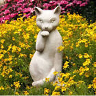 Cat Licking Paw Garden Statue by Orlandi Statuary- Made o...