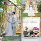 9mm Sparkly Sequin Cloth Glamorous Background Wedding Party Decoration 5 Colors