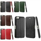 Luxury Crocodile Genuine Leather Case Cover Skin For Apple iPhone 6 6S Plus 5.5