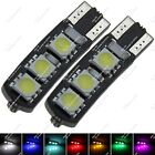 2X T10 1252 2450 6 SMD 5050 LED Wedge Side Luggage Compartment Light Auto ZA017