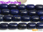 10x14mm Blue Lapis Lazuli Fashion Jewlery Making Loose Bead Gemstone Strand 15""