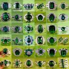 sell cartier ring - Best Selling Items AAA Emerald Quartz Gemstone Silver Rings Size 6 7 8 9 10 Gift
