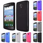 For ZTE Stratos Allstar LTE Z818L Bendable Flexible Frosted TPU Cover Case