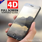 4D Full Cover Tempered Glass Screen Protector For Apple iPhone 8 7 6s 6 Plus