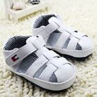 Infant Baby boy white popular crib shoes sandals shoes size 0-6 6-12 12-18months