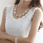 Fire-sale Lady Lace Tank Top Sleeveless Vest Camisole Blouse Tee Tops T-shirt
