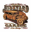 Model A Antique Auto Salvage Rusty Ford Car S M L XL Size T-Shirt Back Graphic