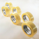 Extra Long Strong Clear Parcel Packing Tape Longer Lasting > Brown sellotape 150