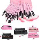 24/32pcs Professional Soft Superior Cosmetic Makeup Brush Set Kit+ Bag Wholesale