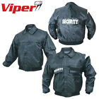 Viper Tactical Security Black Jacket S-5XL Oxford 100% Cotton Doorman Bouncer