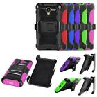Phone Case For Kyocera Hydro View Holster Rugged Cover Stand - Cricket Wireless