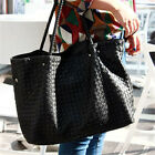 Hot Sales Oversized Women's Faux Leather Handbag Purse Shopper Shoulder Bag Tote
