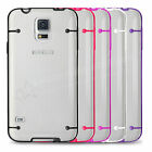 Clear Hard Back Case Cover for SAMSUNG Galaxy S5 Free Screen Protector & Stylus