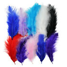 20 x Large Fluffy Marabou Feathers 10-15cm - Card Making Crafts Embellishments