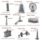 3D Jigsaw Metal Puzzle DIY Famous Building Model Educational Fascinations NEW