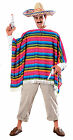 Mexican Serape & Sombrero Set Mexican Costume Set Cinco De Mayo 15750