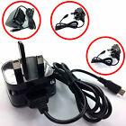 COMPACT CE 1A 1000MaH 3 PIN MAINS WALL CHARGER FOR FOR LATEST MOBILE PHONES