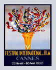 Film Festival Movie Cannes French Riviera 16X20 Vintage Poster FREE S/H