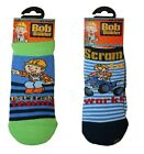 BOB THE BUILDER BABY/TODDLER BOYS SOCKS | AVAILABLE IN 2 SIZES | 2 DESIGNS