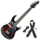 Peavey Star Wars Darth Vader Rockmaster 3 4 Student Beginner Electric Guitar