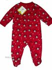 bnwt disney baby minnie mouse red sleepsuit babgrow tiny baby upto 24 months