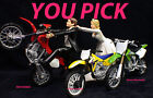 PICK Suzuki Kawasaki Honda Dirt Bike racing, off road, track Motorcycle Wedding