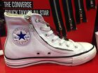 NEW CONVERSE CHUCK TAYLOR ALL STAR DOUBLE ZIP WHITE LEATHER HI MEN SHOES 143097C
