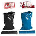 HEAVY DUTY BLACK & BLUE RUBBLE BAGS/SACKS BUILDERS 24 HOUR! * ELEMENTAL TAPE *