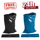 HEAVY DUTY BLACK & BLUE RUBBLE BAGS/SACKS BUILDERS 24 HOUR NEXT DAY DELIVERY!