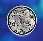 2 Celtic Horse Epona Pewter Shank Buttons 1 Inch 3/4 Inch & 5/8 Inch